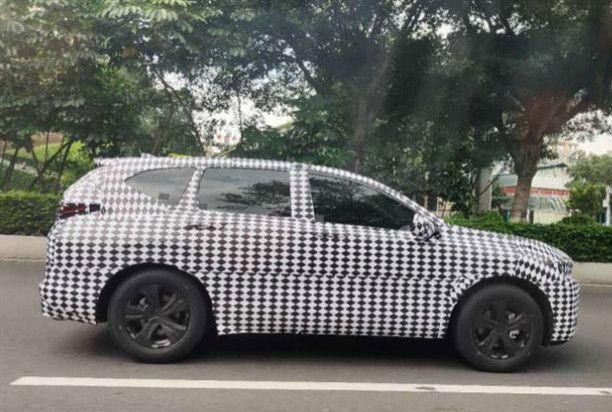 谍照 广汽本田新SUV车型或为本田CR V同胞兄弟 新浪汽车