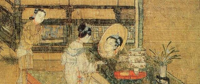 古代女子闺中风情:眉梳千秋弯弯月