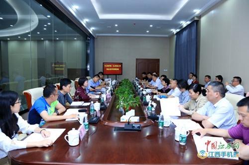 九江职业大学领导赴九江市各工业园区考察调研