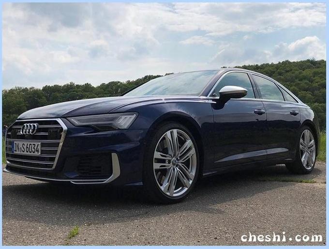 奥迪全新S6实拍,8AT+四驱,PK奔驰E级高性能,即将开卖