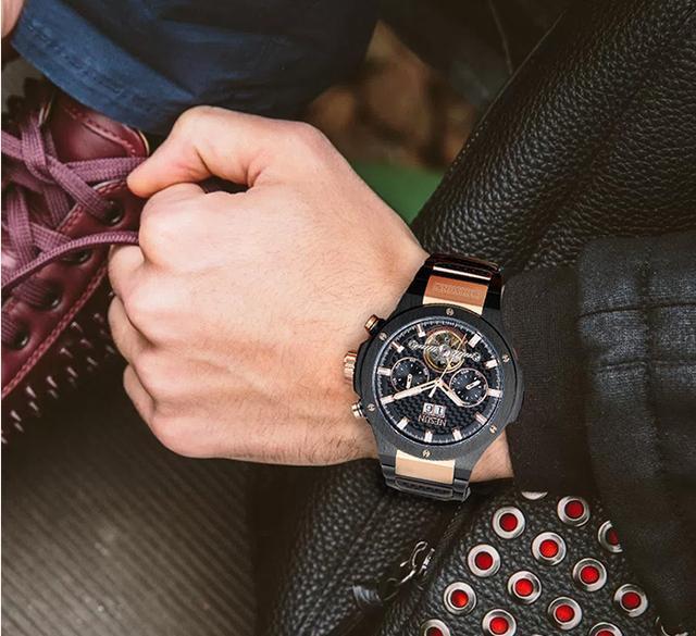 自动机械表和手动机械表,你愿意戴谁?尼尚教你选