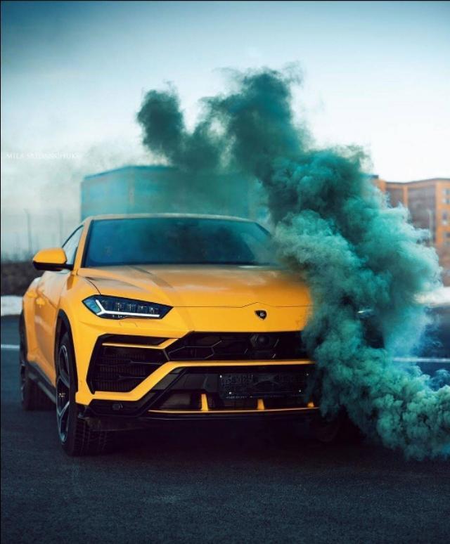 """""""牛气冲天""""的兰博基尼首款SUV,URUS视觉美图!"""
