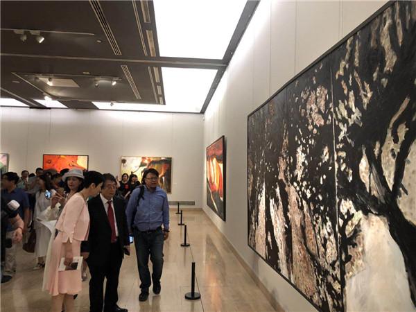 刘海粟朱屺瞻吴大羽都是他的老师 中国美术馆迎来上海画家蔡居个展