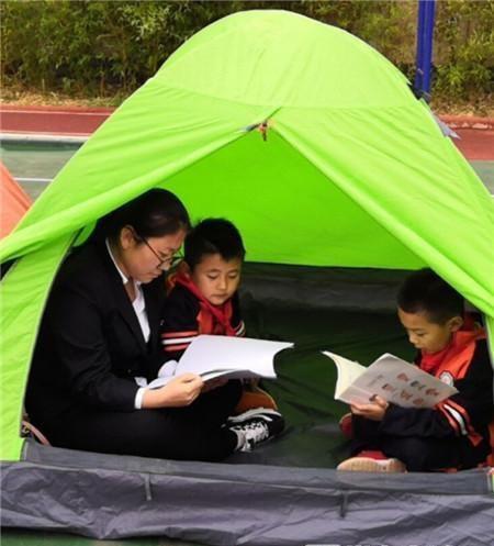 看教研、在帐篷里阅读!官渡晓东小学过个别样信息技术记录滇剧小学图片