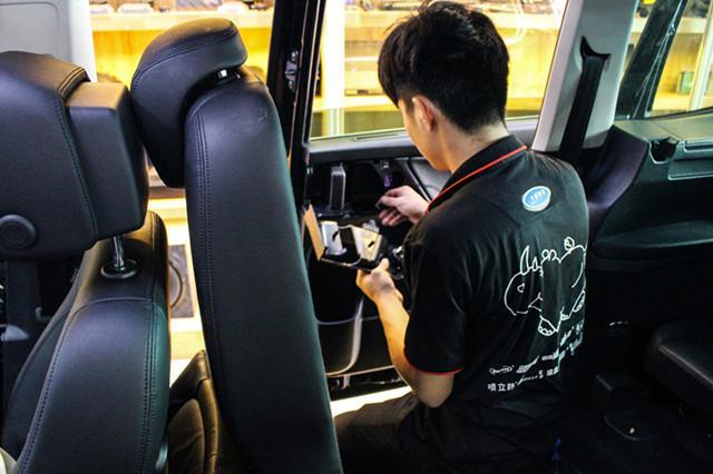 上海汽车音响,大众夏朗改装丹拿272汽车音响