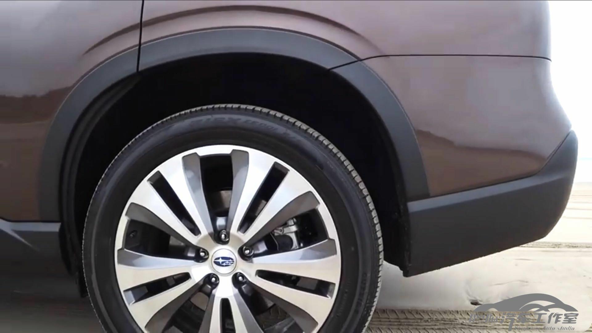 实拍 斯巴鲁Ascent 七座SUV 内饰空间表现优异 动力超途昂