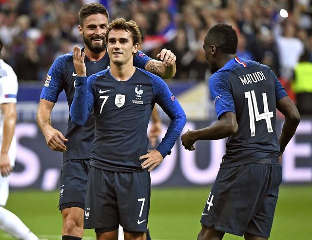 格列兹曼:法国队人才辈出 要好好带带年轻人