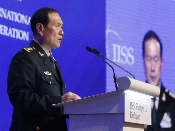 香格里拉对话会|中国防长回应南海、台湾等问题 魏凤和:四个抉择你怎么选