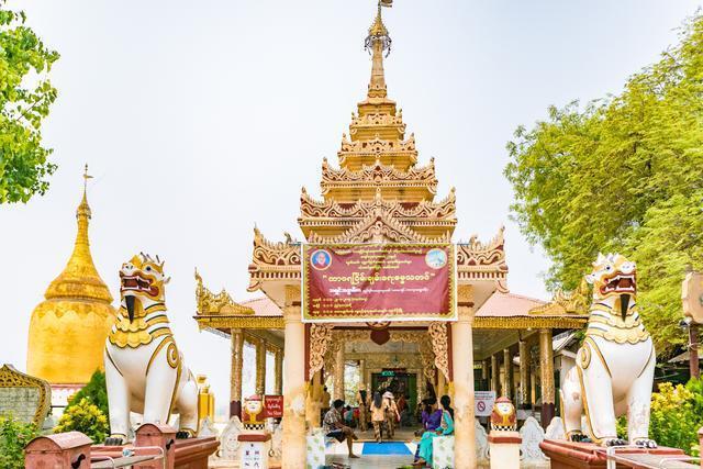 缅甸最古老寺庙之一,地震后重建,是本地人和游客都爱来的寺庙
