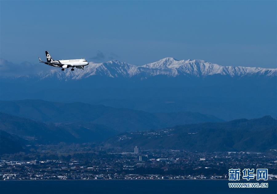 新西兰航空公司一架客机被闪电击中后返航