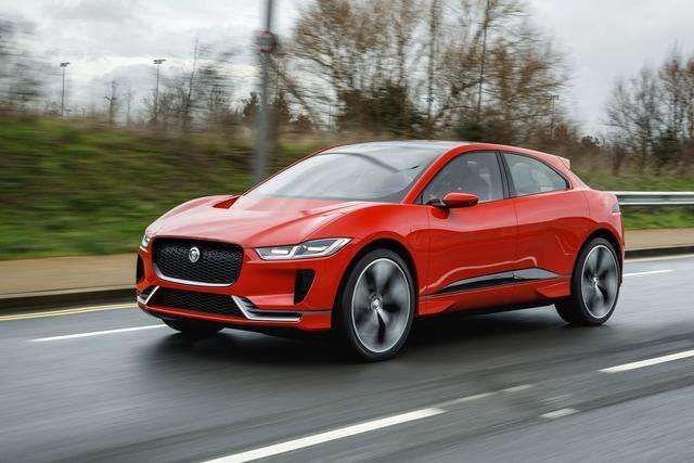在新能源,豪华品牌比中级车还急咧!捷豹首款纯电量产