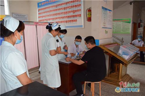 上栗赤山镇中心卫生院举办人感染H7N9禽流感应急演练