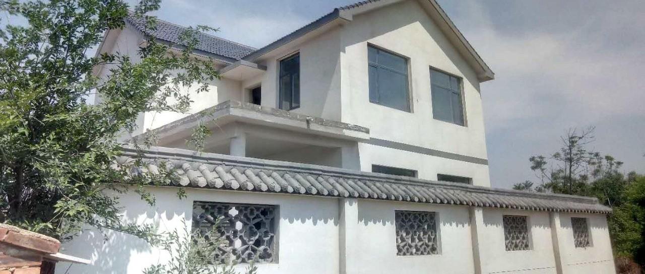 晒家丨自建房图纸不中意,河北赵先生亲手做模型盖中式小院