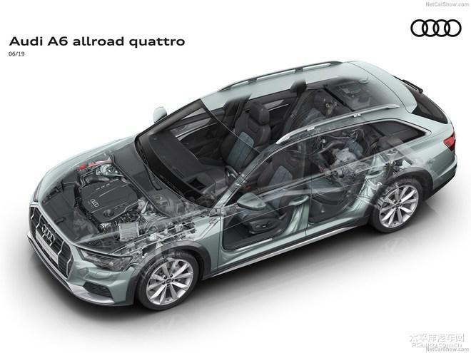 奥迪新款A6 allroad quattro推出,6月于欧洲上市!