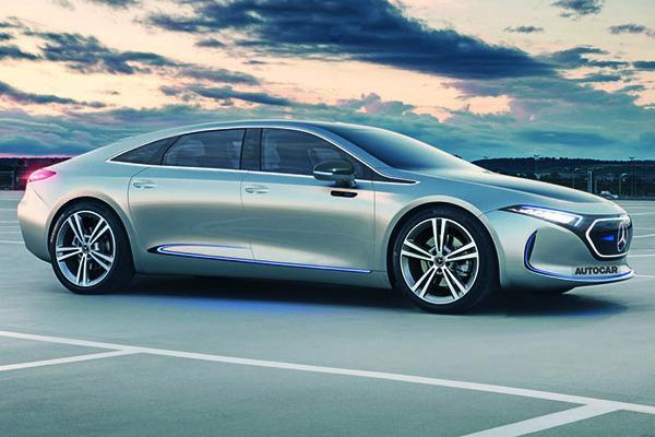 奔驰EQE或2022年推出并国产,Model S你怕了吗?