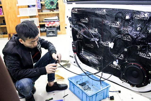 上海汽车音响,比亚迪G5改装以色列摩雷汽车音响