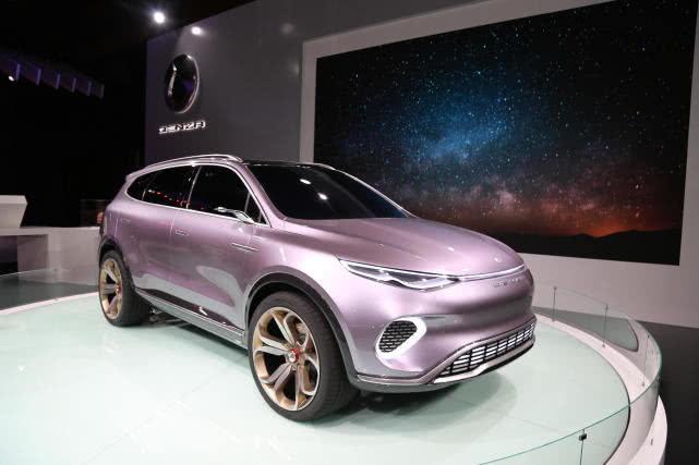 腾势概念车Concept X,2019深港澳车展全球首发!