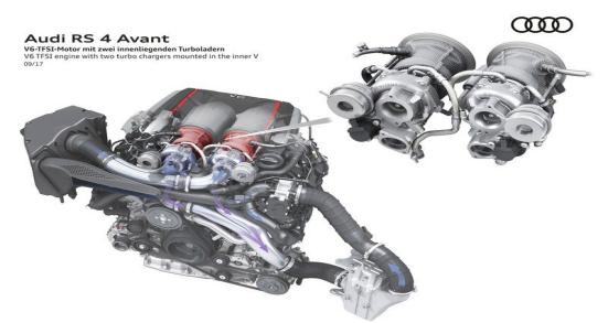 2020奥迪RS4 Avant谍照曝光 将于9月首发 很实用!