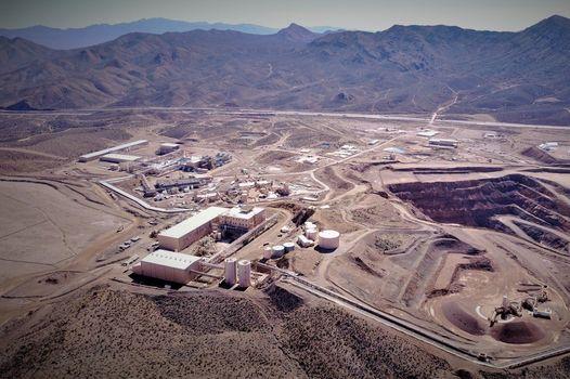 芒廷帕斯稀土礦鳥瞰圖。圖源:SCMP Pictures