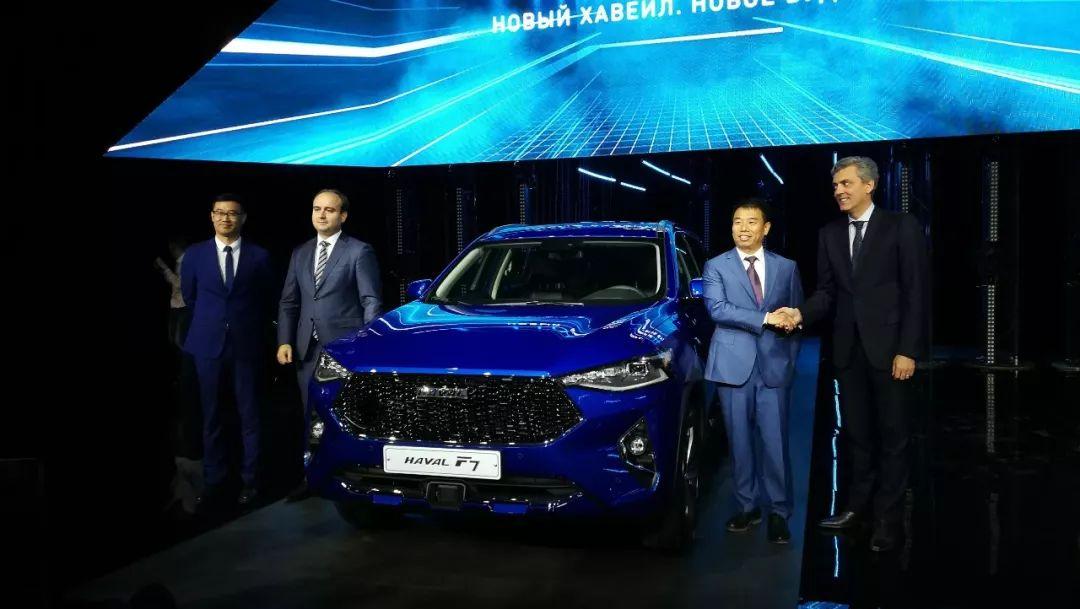 长城俄罗斯建厂,哈弗旗舰SUV在俄上市,售价144.9万..