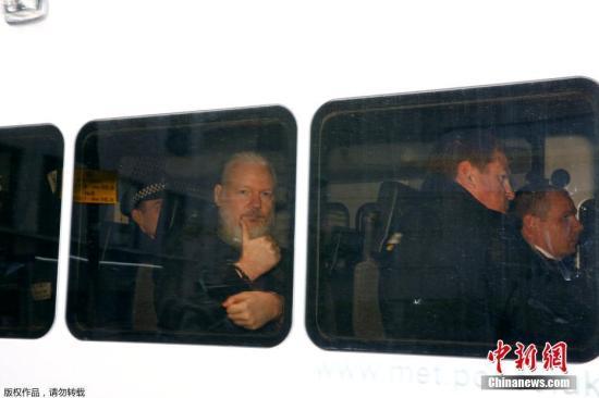 维基解密:引渡阿桑奇的听证会推迟至6月14日