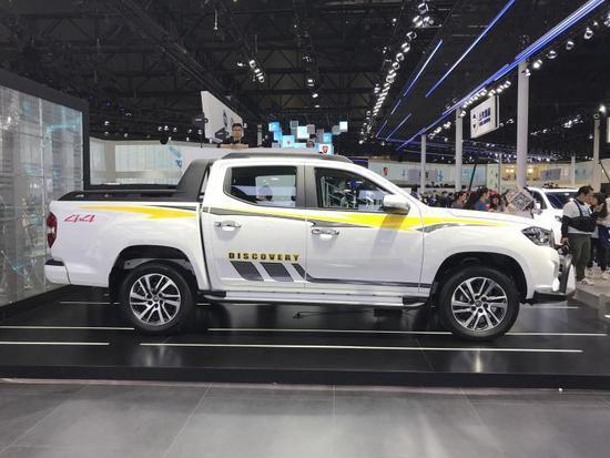 首款上市国六车型 大通T70皮卡柴油版将公布售价