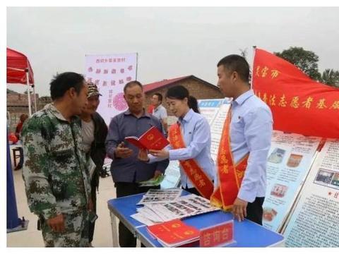 """灵宝市""""青年普法志愿者法治文化基层行""""下乡普法"""