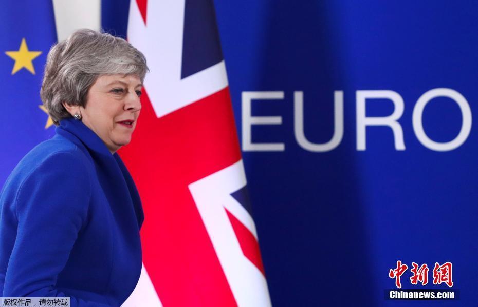 資料圖:英國首相特蕾莎·梅