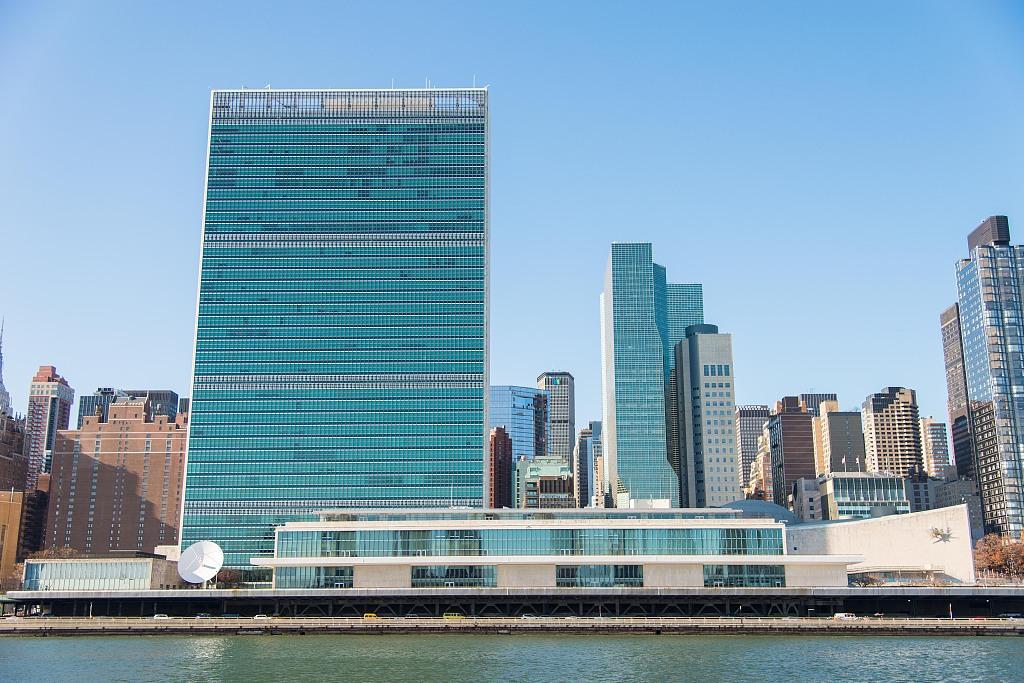 位於美國紐約的聯合國總部大樓。圖/視覺中國