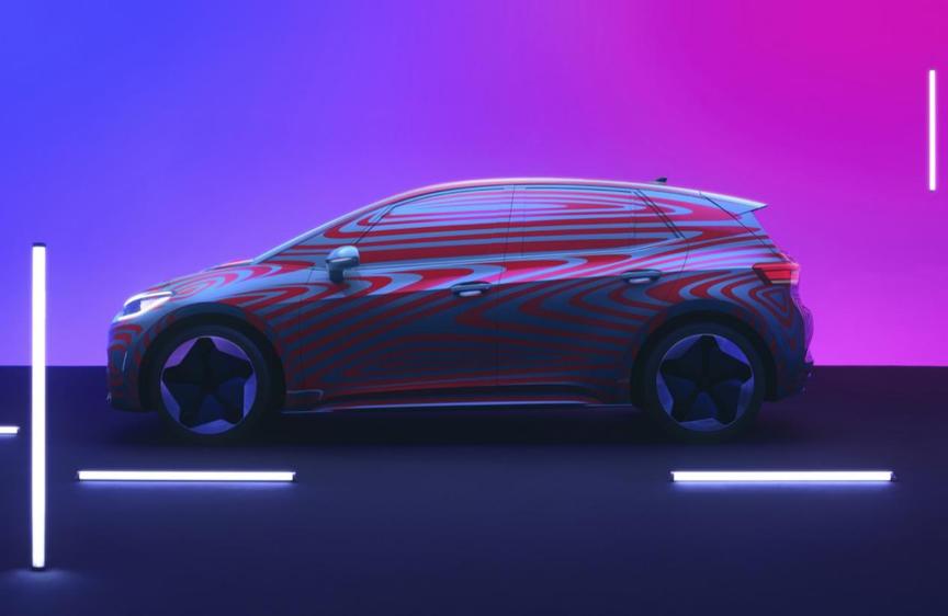大众ID.3前瞻,数万欧洲买家疯狂盲订的MEB平台第一车到底啥样?