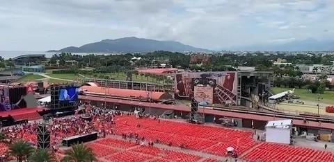 """韩国瑜前进东台湾!2万张红椅摆满""""预计涌10万人↑"""""""