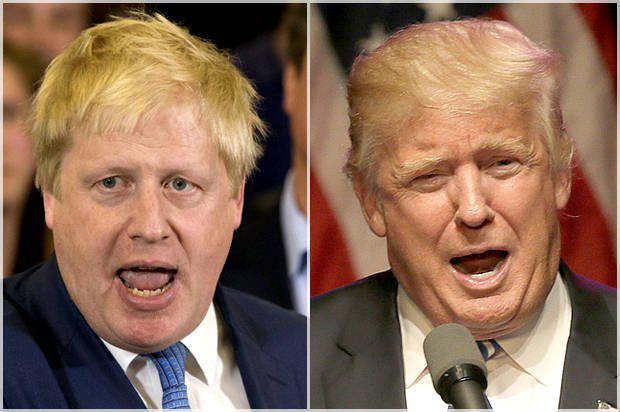 """鲍里斯·约翰逊是不是""""英版特朗普"""" ?"""