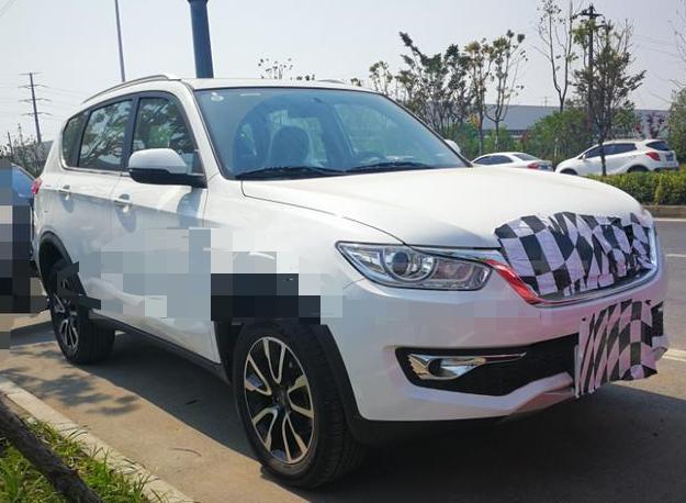 捷途又一全新SUV实车现身,备胎外挂,若5万内起售,你买吗?