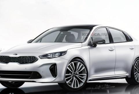 起亚全新K5渲染图曝光 明年底特律车展亮相/未来将推出GT版
