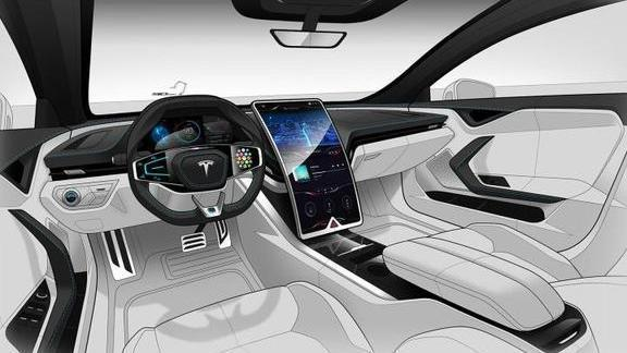 特斯拉 Model S全新运动版曝光,车尾神似思域?