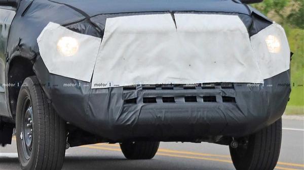 或搭载450匹混合动力 全新丰田坦途最新谍照曝光:3.5T+V6+10AT