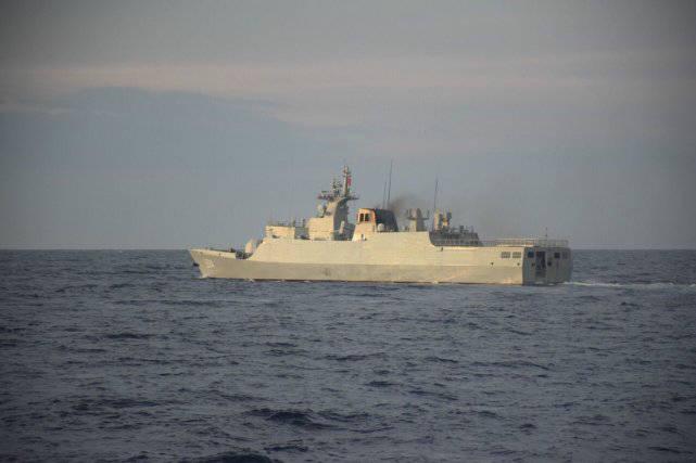菲海警在黄岩岛发现中国056A轻护:没有发生任何不幸