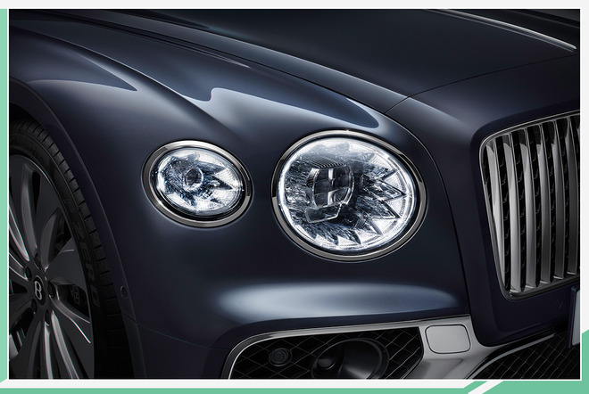 可升降车标+全轮转向系统 宾利全新飞驰正式发布