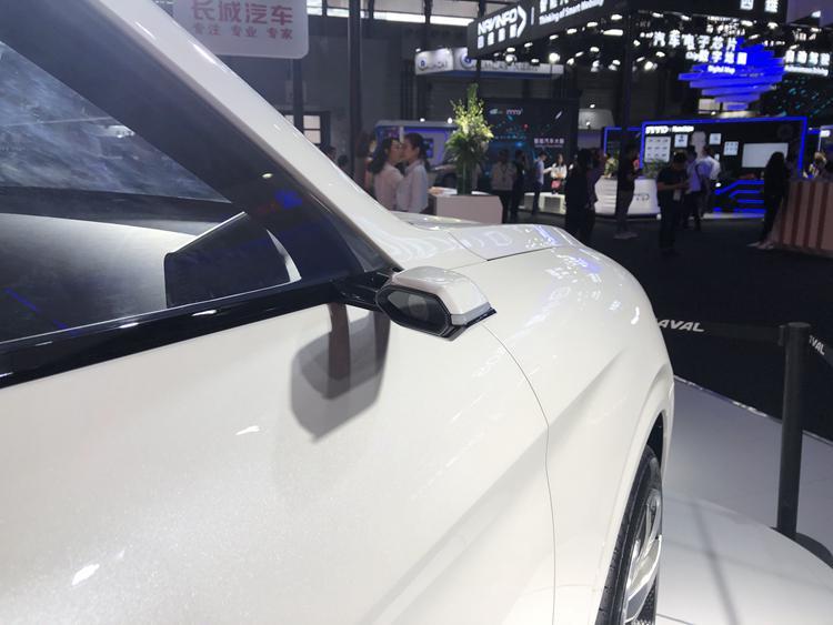造型极为科幻 哈弗VISION 2025概念车亮相CES