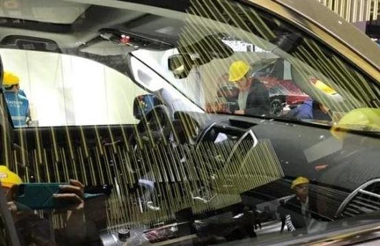 全新2019款哈弗H9实车陆续现身!换装全液晶仪表盘 轴距2800mm!