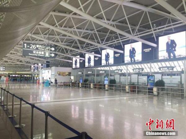資料圖:三亞鳳凰國際機場。 尹海明 攝