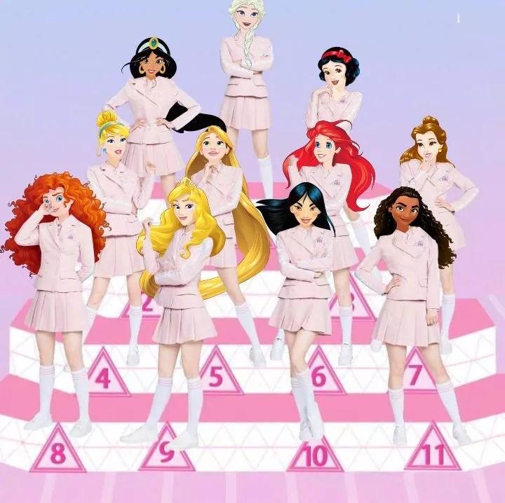 历时80多年的迪士尼公主,或许才是最能打的超级女团!