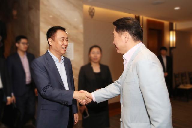 许家印考察韩国SK集团 双方有望就新能源汽车展开合作