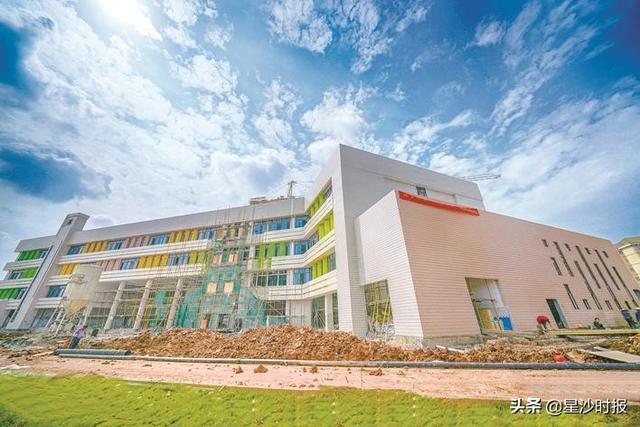 泉星二小预计7月底完工 将方便长丰猎豹、广汽三菱、三一重工等经开区企业员工子弟就近入学
