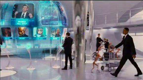 黑衣人太多梗:地球是玩具、比尔・盖茨和姚明都是外星人
