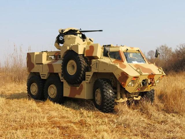 南非向世界展示强大的国防工业实力