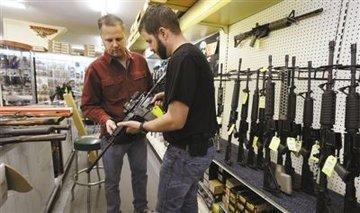 在美国,法律上是允许美国公民合法拥有枪支的