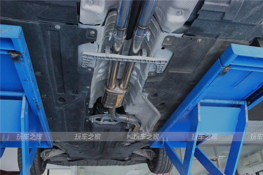 谁说绅士不运动 捷豹XFL改装中尾段四出阀门排气