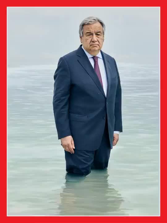 微天下| 时代周刊新封面:联合国秘书长险些被淹