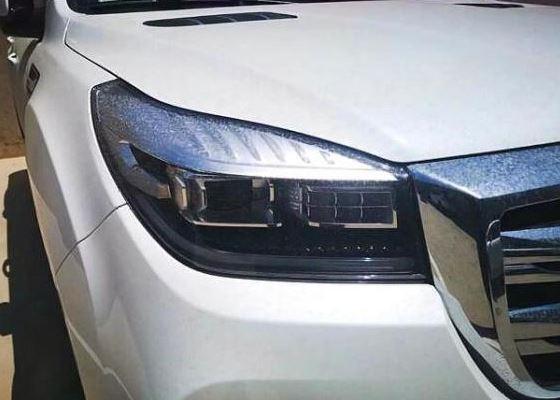 首台白色全新2019款哈弗H9现身!车长超5米 油耗9.8L配国六2.0T